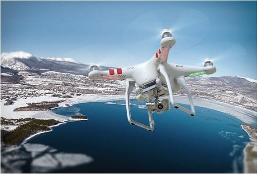 DJI Phantom 2 Vision очень популярен благодаря ёмкому аккумулятору и высотой неповторимых полетов!