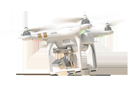 Квадрокоптер представляет из себя дрон, оснащен 4-мя винтами.