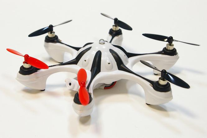 Используя удобный пульт управления современного типа, можно контролировать полет.