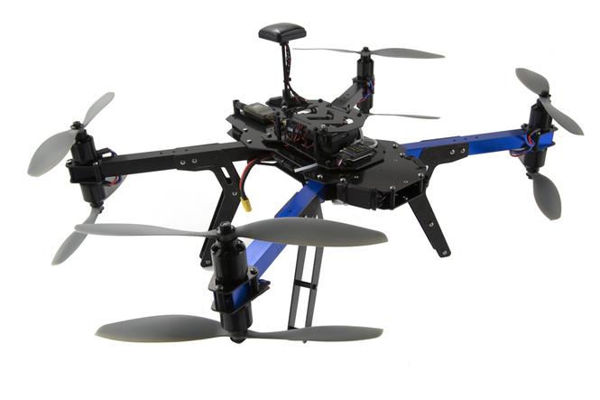 Усовершенствованный квадрокоптер 3DR RTF X8 – высокоэффективная модель.