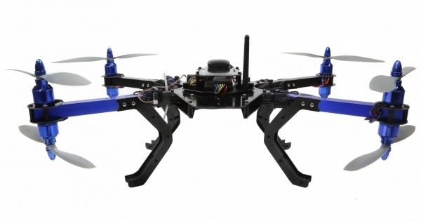 Для осуществления полета квадрокоптер 3DR RTF X8 не нуждается в дополнительных настройках.